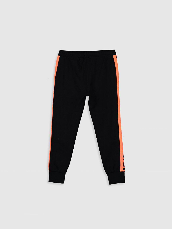 Düz Orta Kalınlık Eşofman Altı İnce Sweatshirt Kumaşı Erkek Çocuk Jogger Eşofman Altı