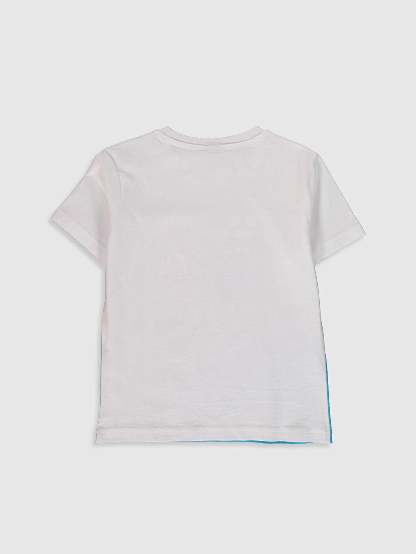 %100 Pamuk İnce Kısa Kol Penye Standart Baskılı Tişört Bisiklet Yaka %100 Pamuk Erkek Çocuk Baskılı Pamuklu Tişört