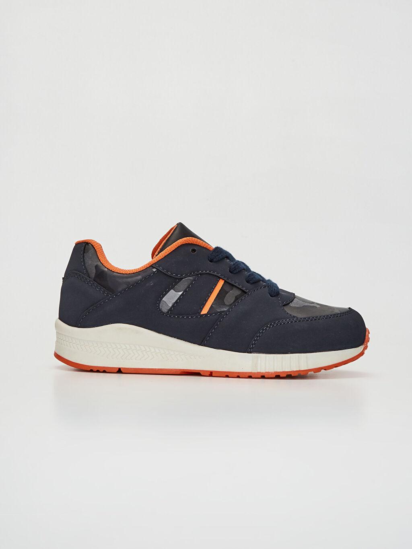 Diğer malzeme (pvc) Sneaker Bağcık Işıksız Erkek Çocuk Kalın Taban Spor Ayakkabı