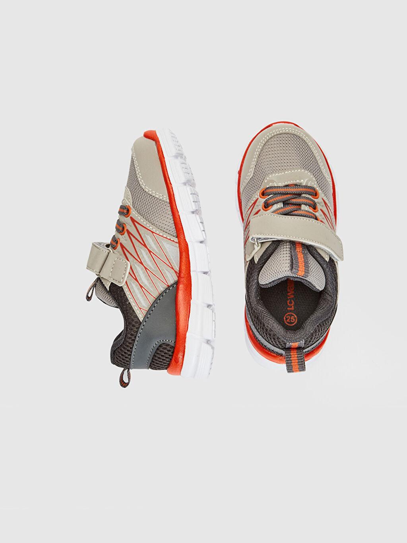 %0 Diğer malzeme (pvc) %0 Tekstil malzemeleri (%100 poliester) Sneaker Bağcık ve Cırt Cırt Spor Çantası Işıksız Erkek Çocuk Aktif Spor Ayakkabı