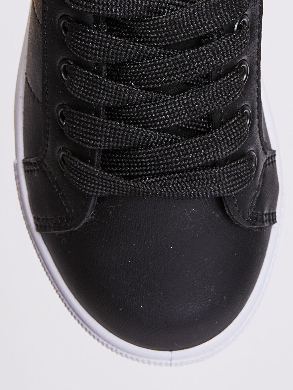 LC Waikiki Siyah Erkek Çocuk 31-38 Numara Sneaker