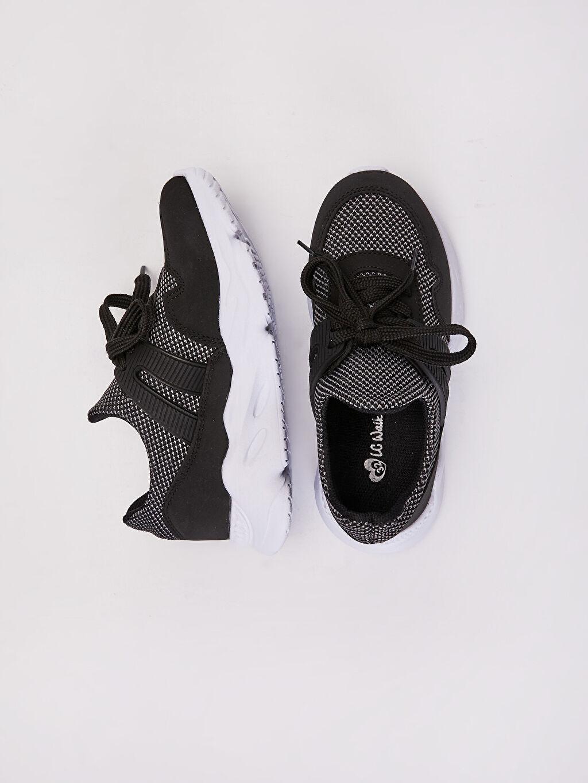 %0 Diğer malzeme (pvc) %0 Tekstil malzemeleri (%100 poliester) Sneaker Bağcık Işıksız Erkek Çocuk Aktif Spor Ayakkabı