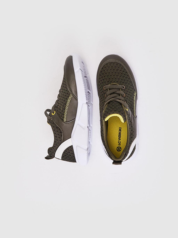 %0 Diğer malzeme (pvc) %0 Tekstil malzemeleri (%100 poliester) Sneaker Spor Çantası Bağcık Işıksız Erkek Çocuk Aktif Spor Ayakkabı