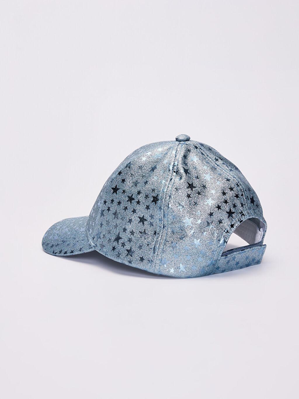 Kız Çocuk Kız Çocuk Yıldız Detaylı Hologram Şapka