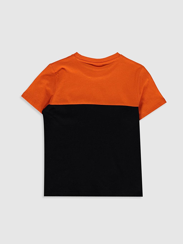 %100 Pamuk Baskılı Tişört Bisiklet Yaka Kısa Kol Süprem %100 Pamuk İnce Erkek Çocuk Yazı Baskılı Basic Tişört
