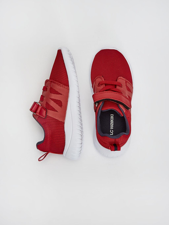 %0 Diğer malzeme (poliüretan) %0 Tekstil malzemeleri (%100 poliester) Sneaker Spor Çantası Bağcık Işıksız Erkek Çocuk 25-30 Numara Aktif Spor Ayakkabı