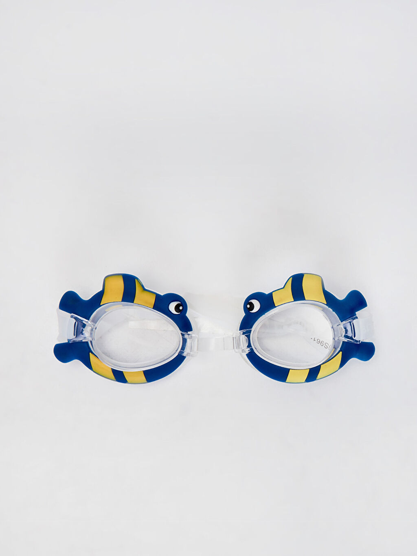 Plastik Deniz Gözlüğü Erkek Çocuk Deniz Gözlüğü