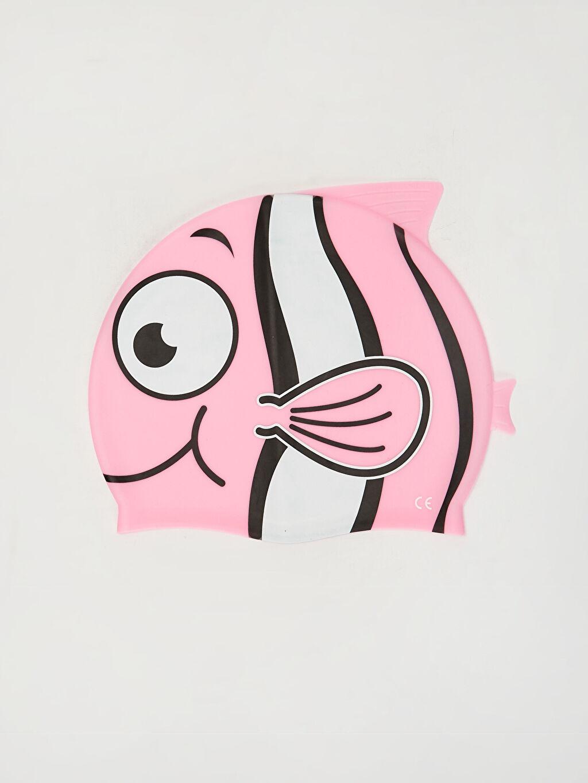 Çok Renkli Kız Çocuk Balık Silüetli Bone 0S9706Z4 LC Waikiki
