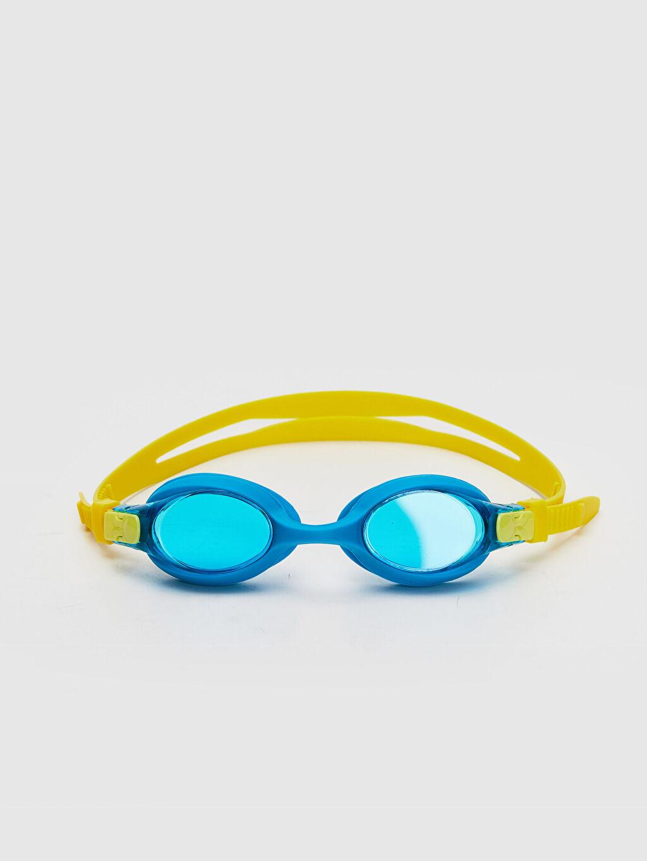 Çok Renkli Erkek Çocuk Deniz Gözlüğü ve Bone Seti 0S9834Z4 LC Waikiki