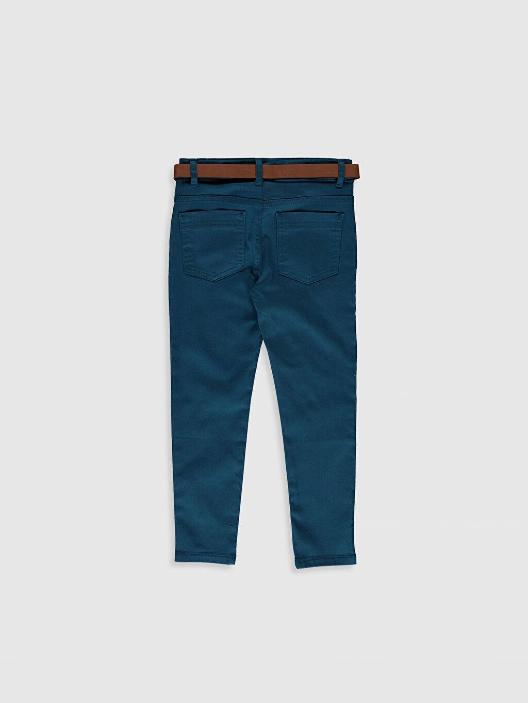 %66 Pamuk %30 Polyester %4 Elastan Normal Bel Düz Dar Orta Kalınlık Pantolon Gabardin Astarsız Kemer Erkek Çocuk Super Skinny Gabardin Pantolon
