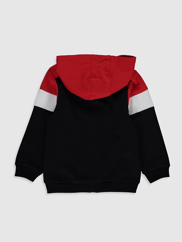 %100 Pamuk Baskılı Uzun Kol Spor Hırka Kapüşon Yaka Sweatshirt Kumaşı Mickey Mouse Kız Bebek Mickey Mouse Baskılı Fermuarlı Kapüşonlu Sweatshirt Anne Kız Kombini