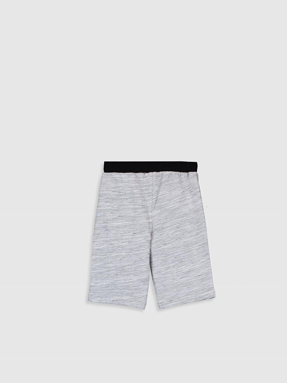 %78 Pamuk %22 Polyester Şort Düz Orta Kalınlık Erkek Çocuk Basic Roller