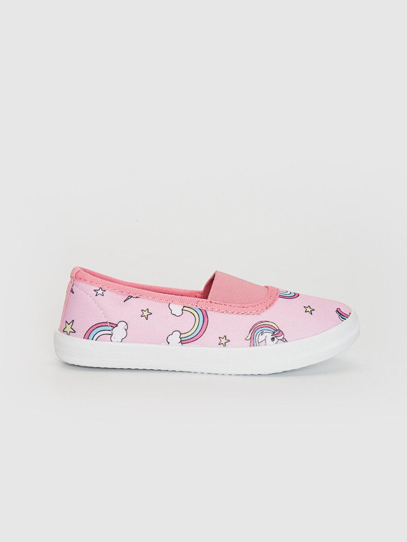 Pembe Kız Çocuk Babet Ayakkabı 0SL742Z4 LC Waikiki