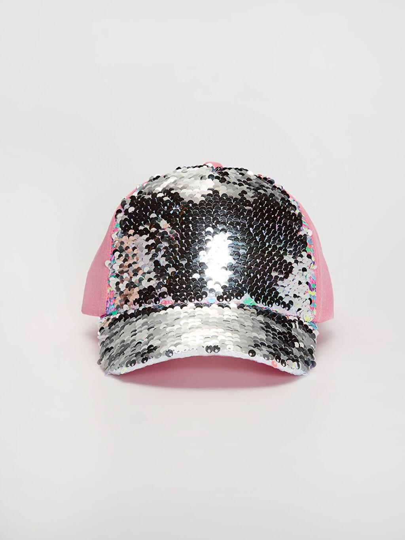 Kız Çocuk Kız Çocuk Pul Payetli Şapka