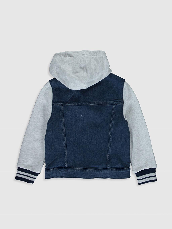 %99 Pamuk %1 Elastane %100 Pamuk Aksesuarsız Jean Ceket Standart Astarsız Orta Kalınlık Düz Jacket Uzun Kol Erkek Çocuk Jean Ceket