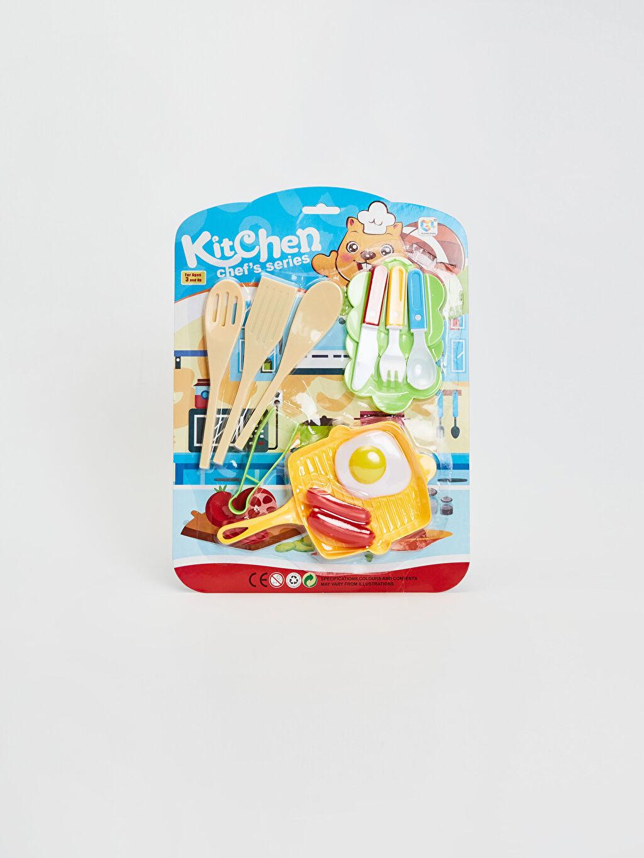 Çok Renkli Oyuncak Mutfak Seti 0SE512Z4 LC Waikiki