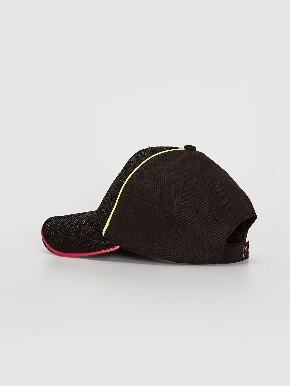Kız Çocuk Kız Çocuk Yazı Baskılı File Detaylı Şapka