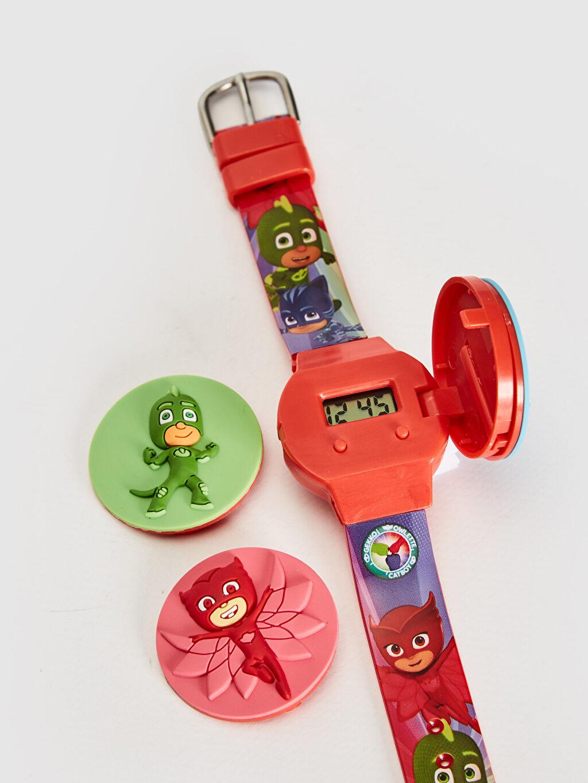 Erkek Çocuk Pijamaskeliler Lisanslı Kapaklı Kol Saati