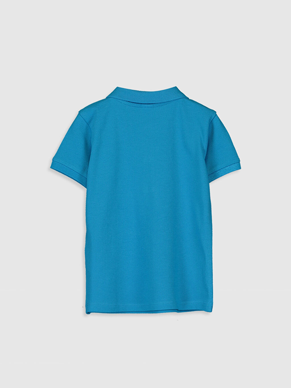 %100 Pamuk Aksesuarsız Standart Tişört Pike Casual Polo Yaka Kısa Kol Düz %100 Pamuk Erkek Bebek Polo Yaka Basic Tişört