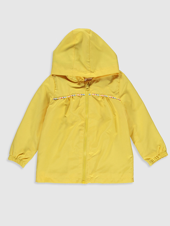 Sarı Kız Bebek Kapüşonlu Mont 0S0879Z1 LC Waikiki