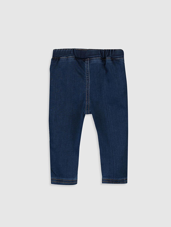 %80 Pamuk %19 Elastomultiester %1 Elastane Kalın Pantolon Erkek Bebek Jean Pantolon