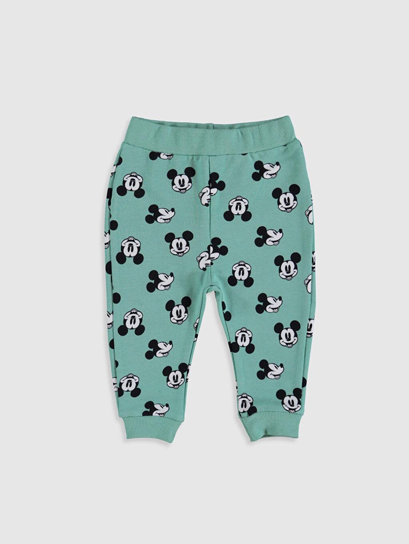 Erkek Bebek Mickey Mouse Baskılı Pantolon 2'li