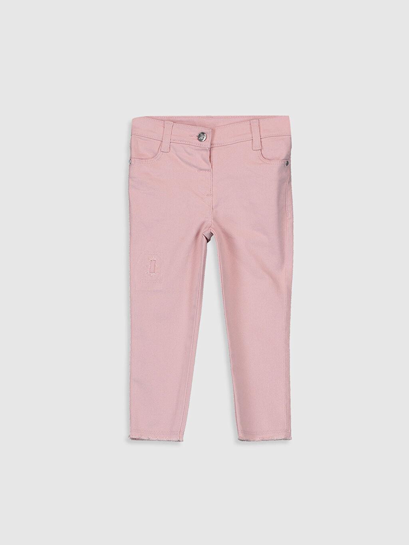 Pembe Kız Bebek Gabardin Pantolon 0S2434Z1 LC Waikiki