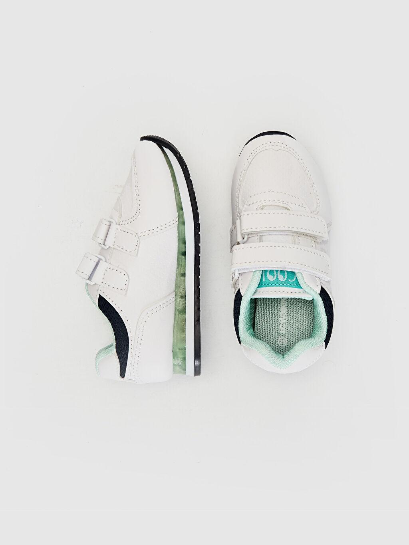 %0 Diğer malzeme (poliüretan) %0 Tekstil malzemeleri (%100 poliester) Cırt Cırt Işıksız Sneaker Erkek Bebek Cırt Cırtlı Günlük Spor Ayakkabı
