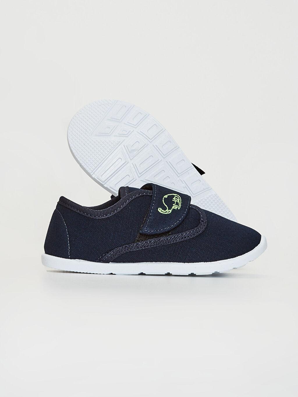 Erkek Bebek Erkek Bebek Bez Günlük Spor Ayakkabı