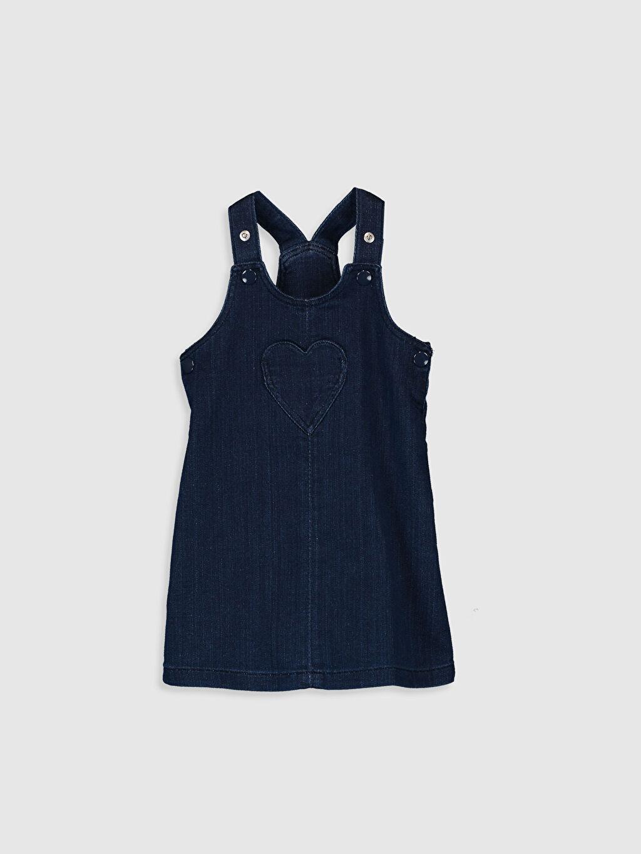 Mavi Kız Bebek Jean Elbise 0S3381Z1 LC Waikiki