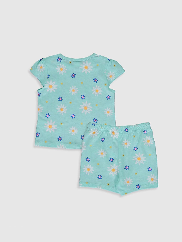 %100 Pamuk %100 Pamuk Penye Standart Pijama Takım %100 Pamuk Kız Bebek Desenli Pijama Takımı