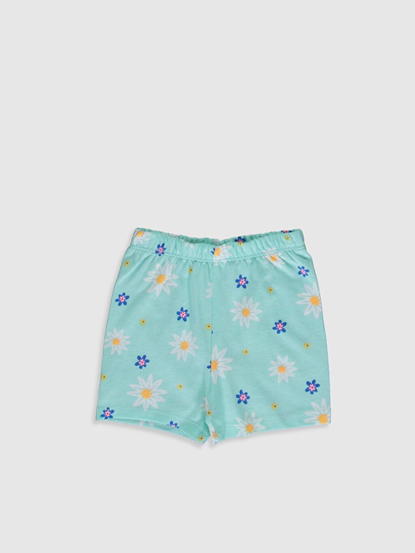 Kız Bebek Desenli Pijama Takımı