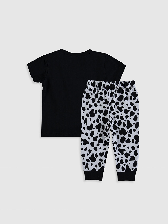 %100 Pamuk %100 Pamuk Penye Standart Pijama Takım %100 Pamuk Erkek Bebek Dalmaçyalı Pijama Takımı