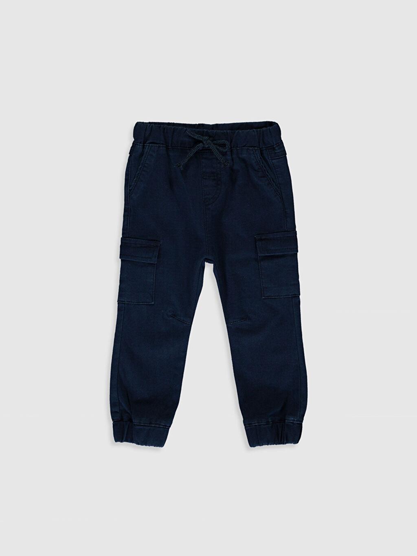 İndigo Erkek Bebek Jean Jogger Pantolon  0S5706Z1 LC Waikiki