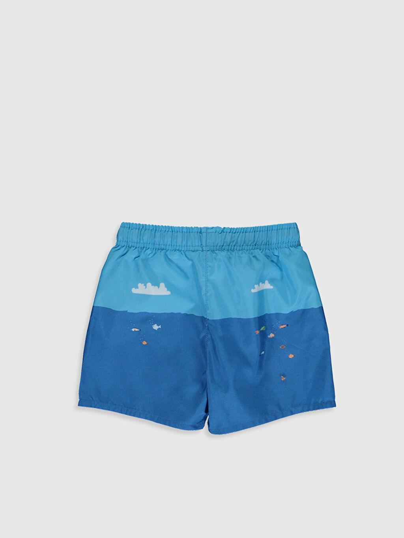%100 Polyester %100 Polyester Standart Boxer Düz Yüzme Şort İnce Erkek Bebek Baskılı Yüzme Şort