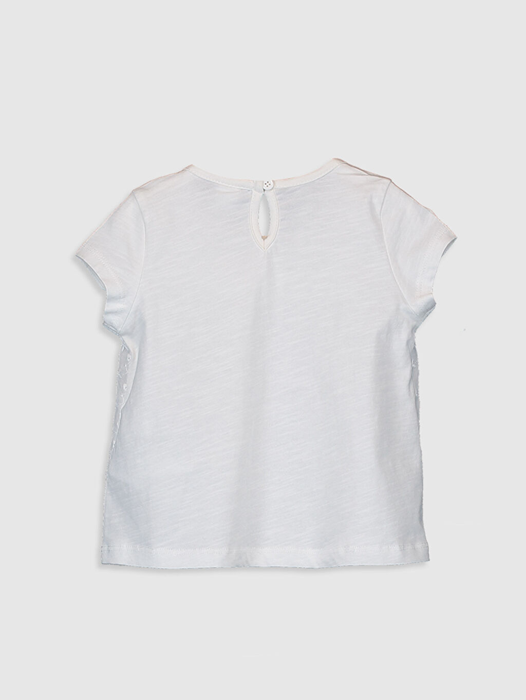 %100 Pamuk %100 Pamuk Süprem Tişört Kısa Kol Düz Standart Günlük Kız Bebek Basic Pamuklu Tişört