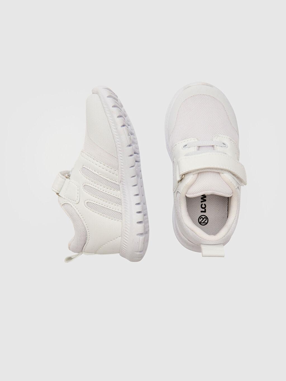 %0 Diğer malzeme (pvc) %0 Tekstil malzemeleri (%100 poliester)  %0 Tekstil malzemeleri (%100 poliester) Bağcık ve Cırt Cırt Spor Çantası Işıksız Sneaker Erkek Bebek Cırt Cırtlı Günlük Spor Ayakkabı