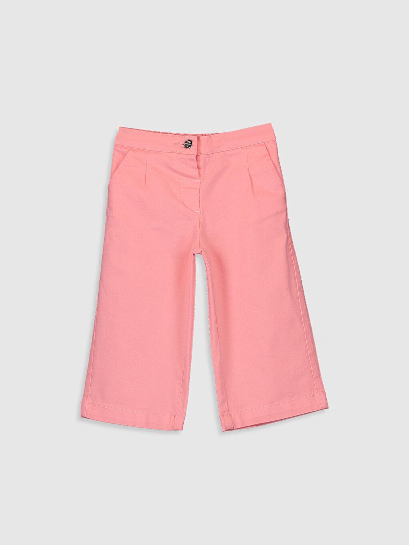 Mercan Kız Bebek Poplin Pantolon 0S8448Z1 LC Waikiki