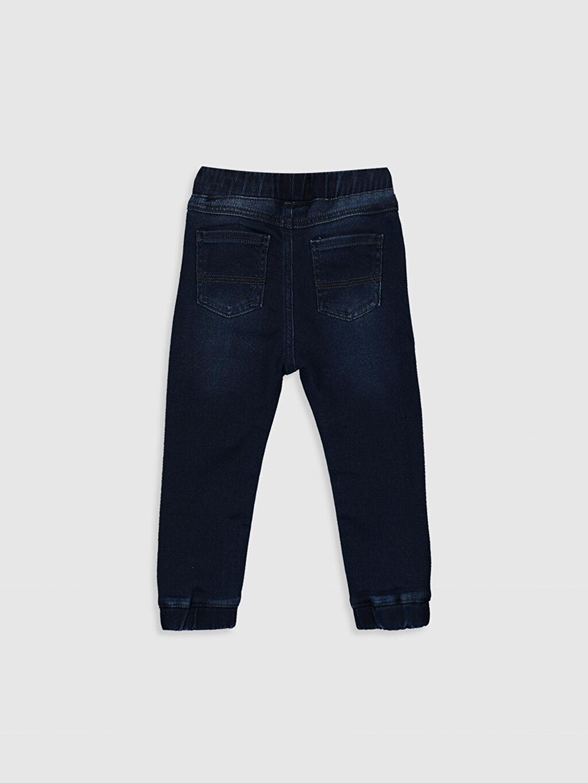 %81 Pamuk %17 Polyester %2 Elastan Astarsız Beş Cep Jean Düz Aksesuarsız Erkek Bebek Jean Pantolon