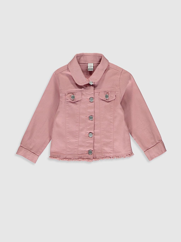 Pembe Kız Bebek Gabardin Ceket 0SG340Z1 LC Waikiki