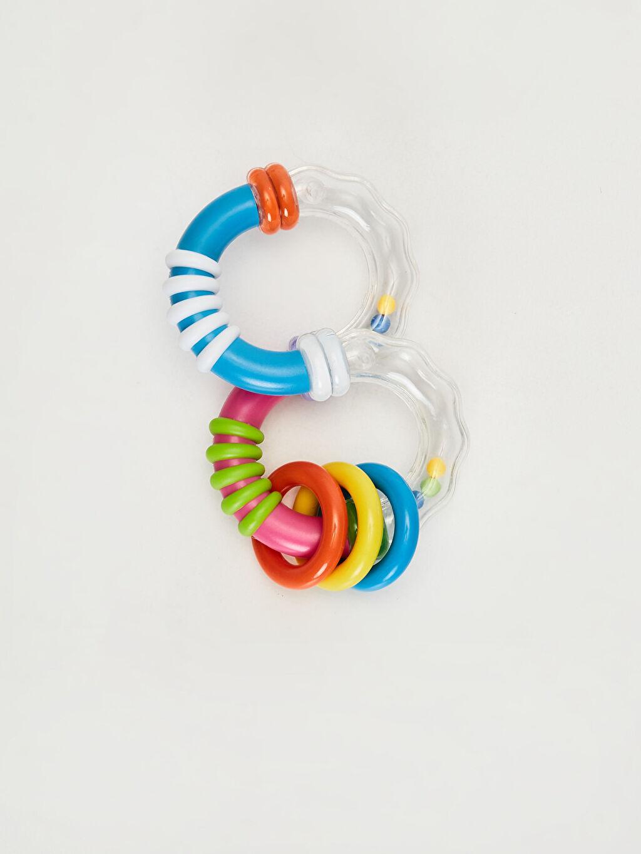 %100 Plastik Oyuncak ve Kırtasiye Kanz Eğitici Çıngırak Oyuncak