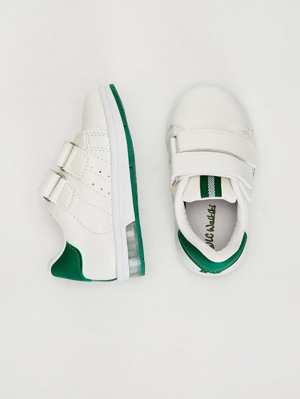 Diğer malzeme (pvc) Ayakkabı Işıksız Cırt Cırt Erkek Bebek Günlük Bilekli Ayakkabı