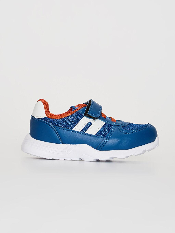 Mavi Erkek Bebek Cırt Cırtlı Günlük Spor Ayakkabı 0SG560Z1 LC Waikiki