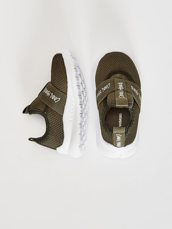 %0 Tekstil malzemeleri ( %100 polyester) Sneaker Diğer Işıksız Erkek Bebek Aktif Spor Ayakkabı