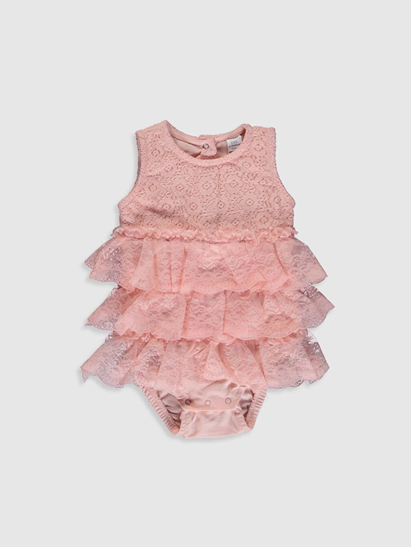 Pembe Kız Bebek Çıtçıtlı Body 0SJ103Z1 LC Waikiki