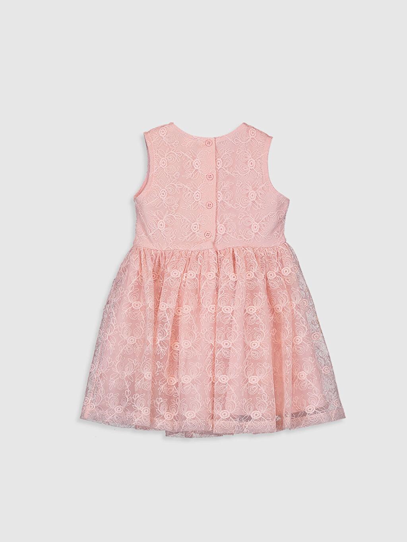 %40 Pamuk %60 Polyester %100 Pamuk %100 Pamuk Standart Baskılı Elbise Dantel İnce Casual Kısa Kol Kız Bebek Dantel Elbise