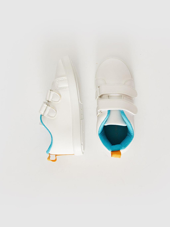 Diğer malzeme (pvc) Işıksız Cırt Cırt Sneaker Erkek Bebek Cırt Cırtlı Günlük Ayakkabı