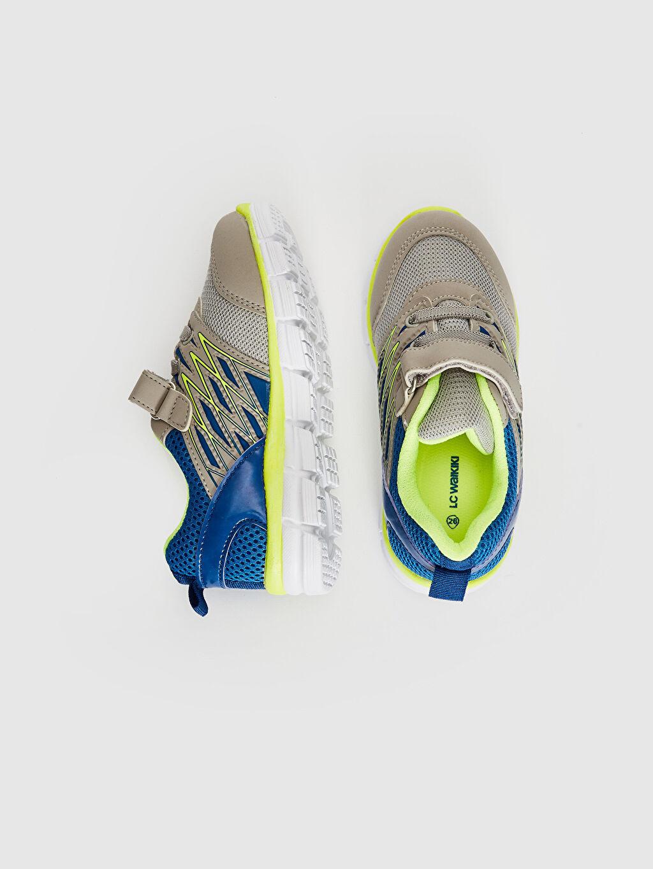 %0 Diğer malzeme (pvc) %0 Tekstil malzemeleri (%100 poliester) Sneaker Işıksız Bağcık ve Cırt Cırt Spor Çantası Erkek Bebek Aktif Spor Ayakkabı