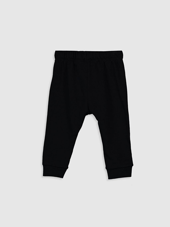 %85 Pamuk %15 Polyester Dar Orta Kalınlık Eşofman Altı Düz Mickey Mouse Kalın Sweatshirt Kumaşı Normal Bel Erkek Bebek Mickey Mouse Baskılı Pantolon