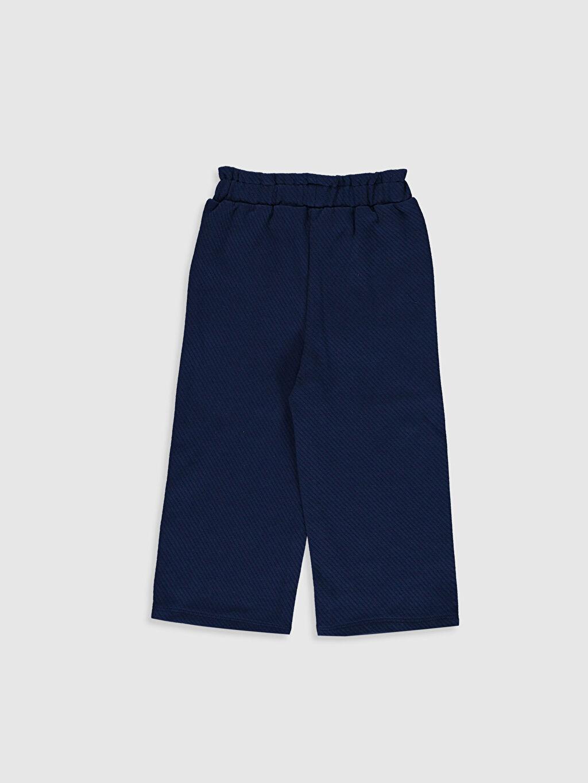 %100 Pamuk %100 Pamuk Süprem Smart Casual Havuç Kesim Pantolon Düz Standart Kız Bebek Pamuklu Pantolon